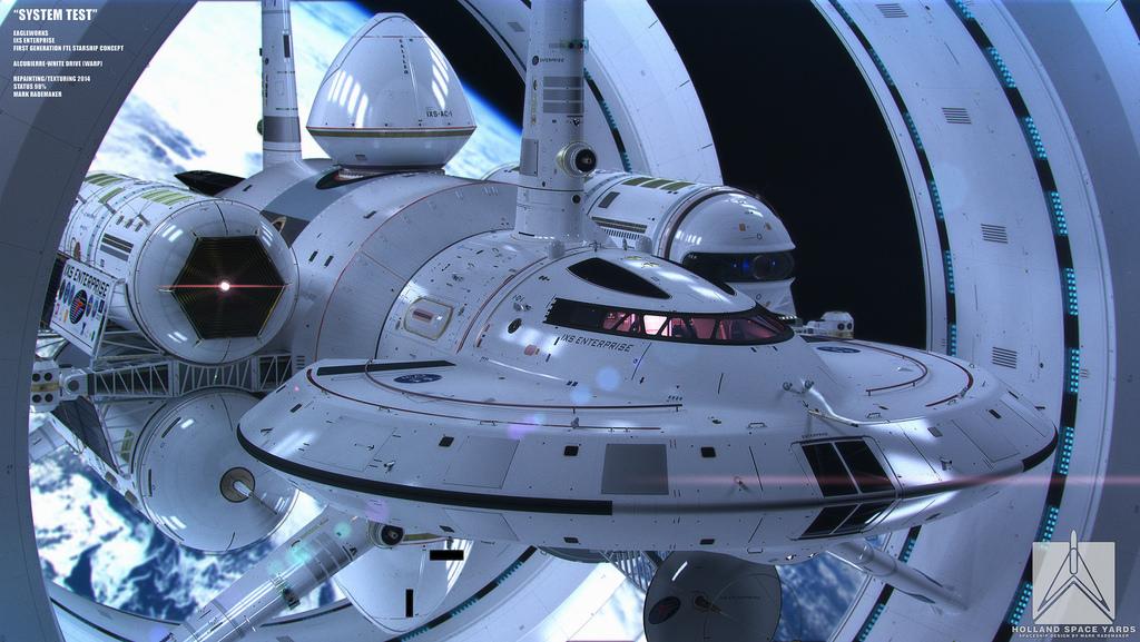 Star Trek Enterprise - Warpantrieb möglich